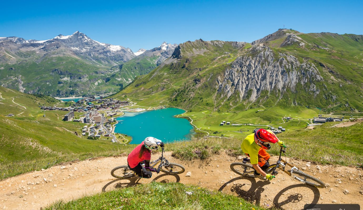 Coordinating and running the MTB area jointly with Val dIsere