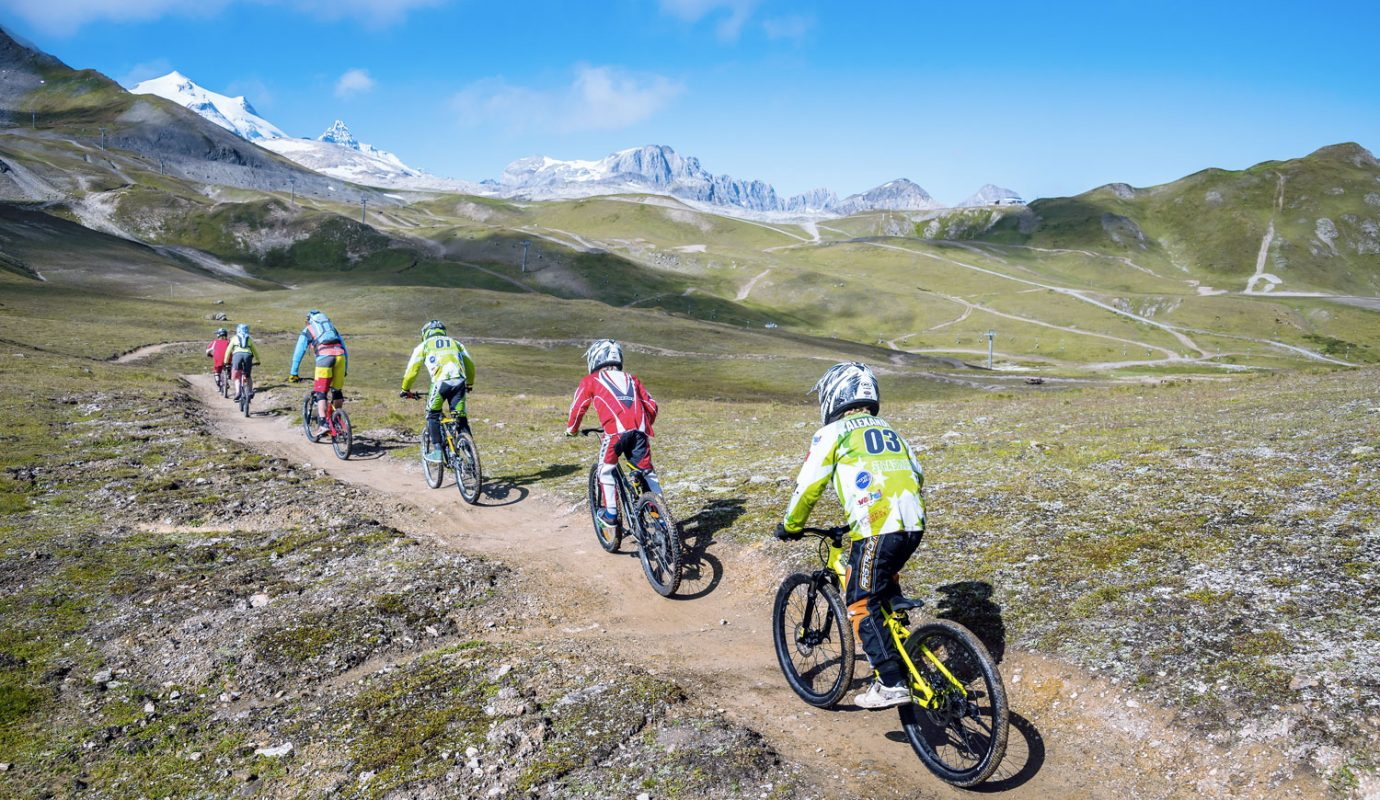 Coordinating and running the MTB area jointly with Tignes Val d