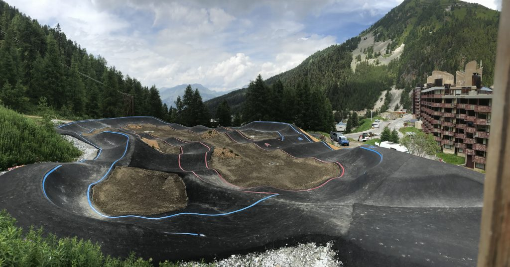 pumptrack la plagne bike solutions