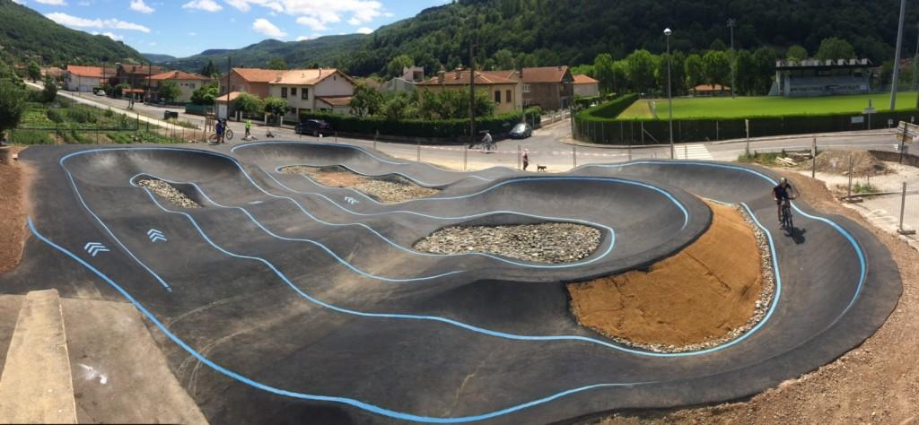 pump track saint affrique aveyron