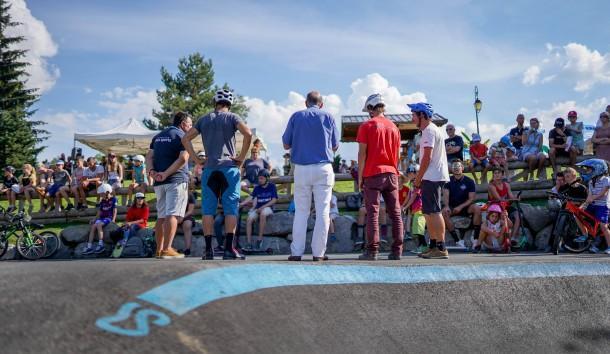 discours du maire pumptrack des carroz bikesolutions