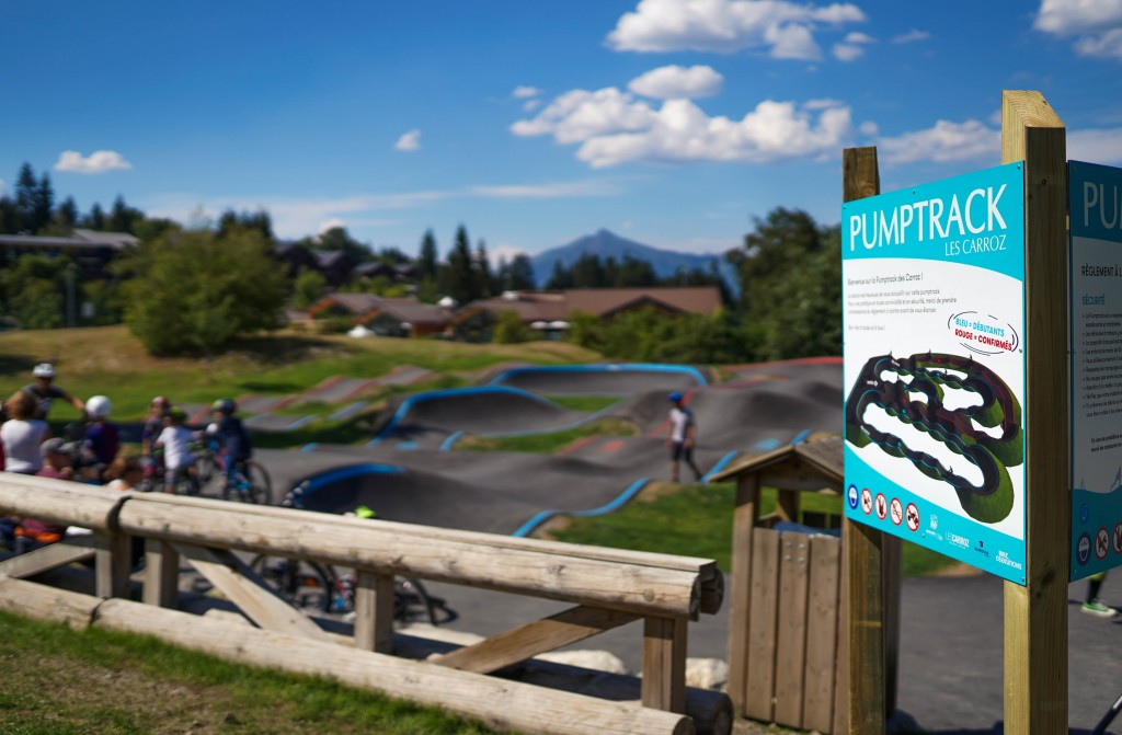 Signalétique pumptrack
